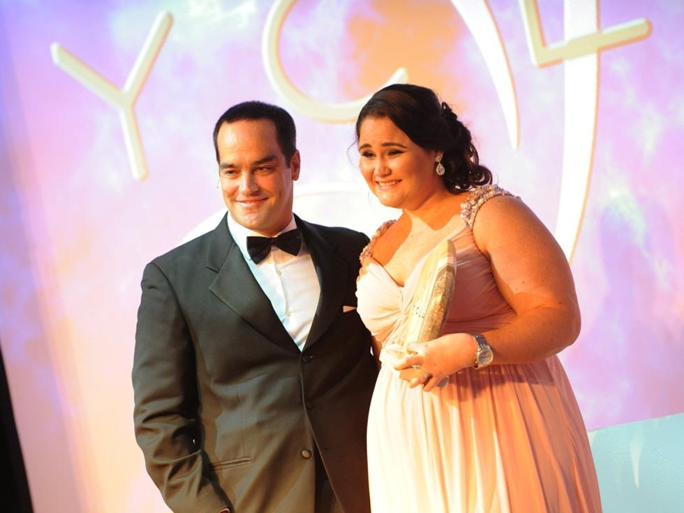 Host Chris Duggan and Recipient Kellie McGee