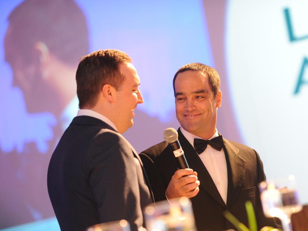 2015 Finalist Stephen Watler and Host Chris Duggan